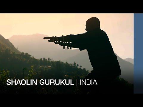 The Shaolin Gurukul near the Himalayas