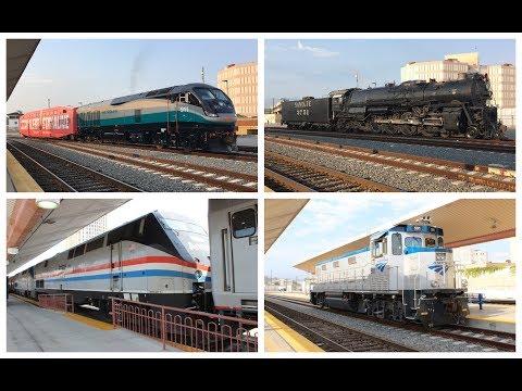 Railfanning Los Angeles Union Station 7/15/2017