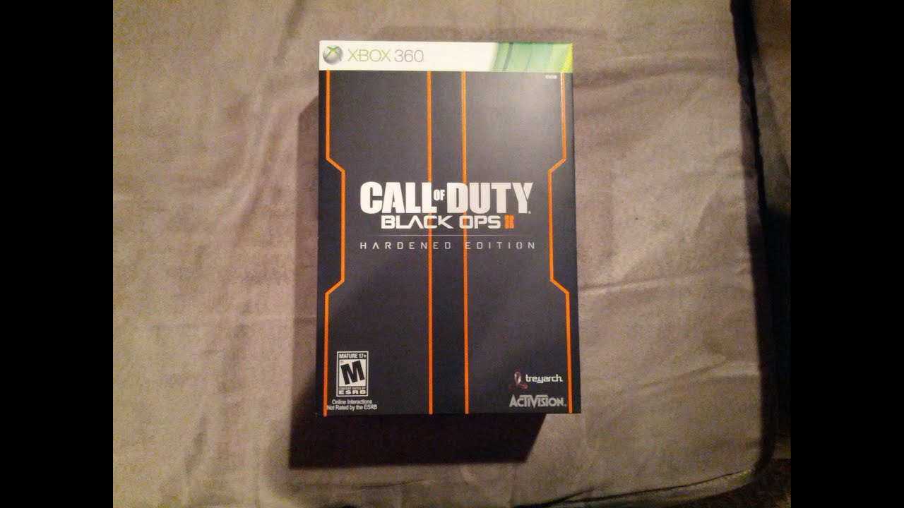 Call of Duty: Black Ops 2 Hardened Edition (Xbox 360) Midnight Release  Unboxing!