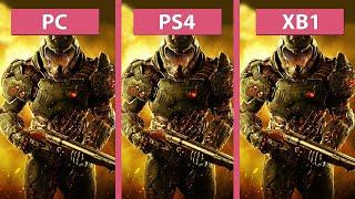 Video DOOM – PC vs. PS4 vs. Xbox One (Closed Beta) Graphics Comparison download MP3, 3GP, MP4, WEBM, AVI, FLV Juni 2018