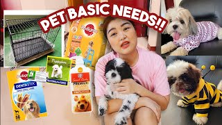 PET ESSENTIALS for FIRST TIME FURPARENTS! + meet my furbabies 💕| Arah Virtucio