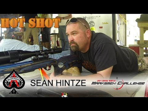 .22LR Splitting a card and matches at 30 Yards - Sean Hintze [Marksmen Challenge July 2015]