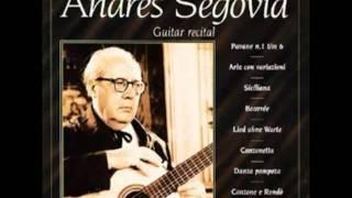 Andrés Segovia- Guitar Recital - Tarantella