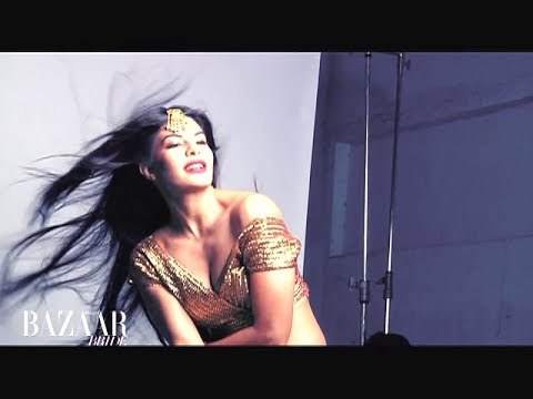 Jacqueline Fernandez's hotness on the cover shoot of Harpers Bazaar Mp3