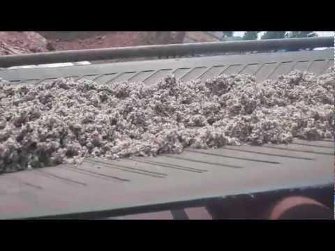 Cotton fibre pellets press machine