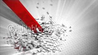 Red arrow destroys a wall