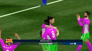 Barcelona Vs A Madrid Dream League Soccer 2018 Android Gameplay #128
