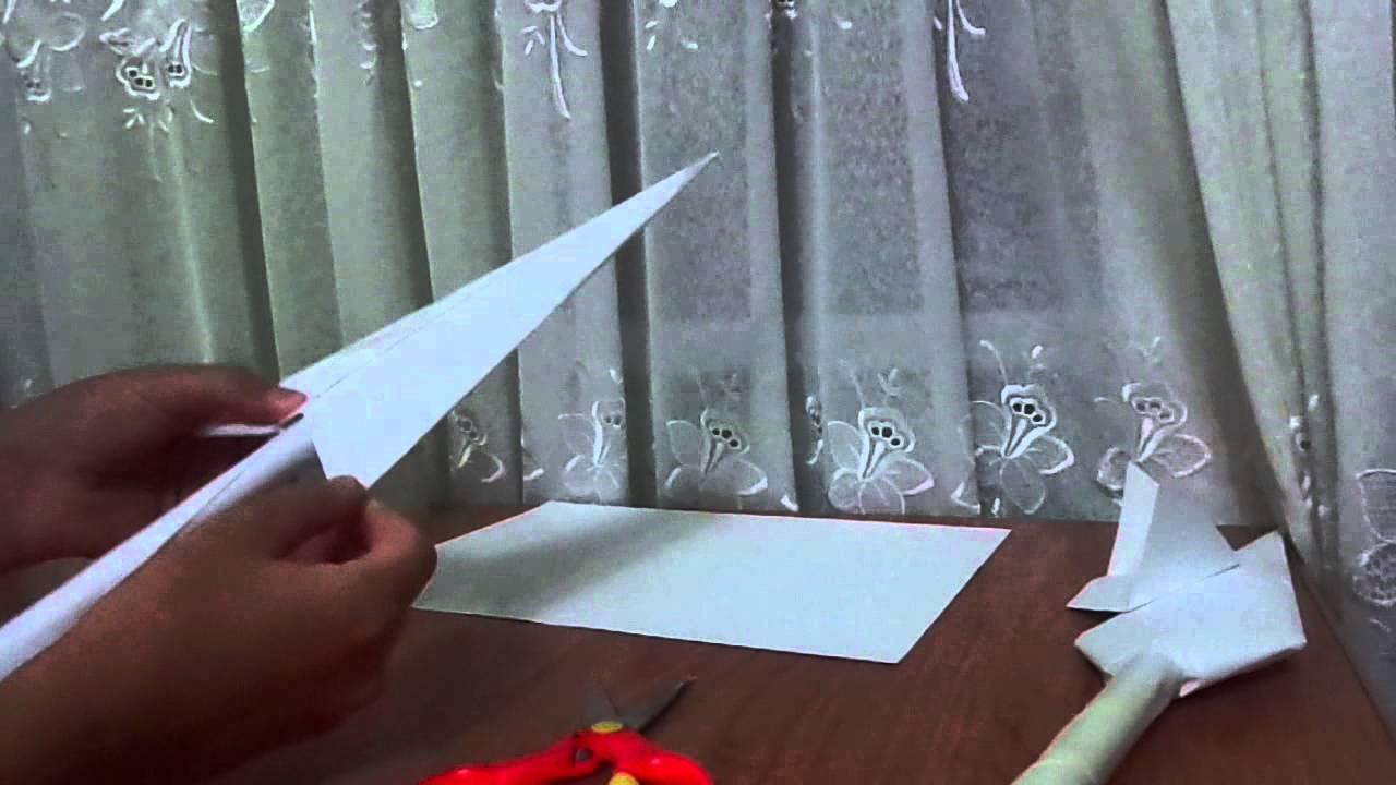 origami kunai youtube
