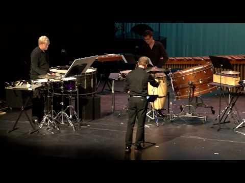 Hiroya Miura, Diacritic (2016) -- Boston Conservatory Percussion Ensemble