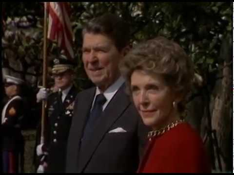 President Reagan's Meetings with Prime Minister Mulroney of Canada State Visit on March 18, 1986
