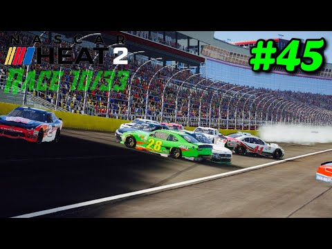 """Weird Finishing Order At Charlotte"" NASCAR Heat 2 NXS S2 Career Mode Part 45"