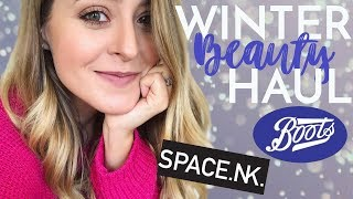 Winter BEAUTY HAUL | Fleur De Force