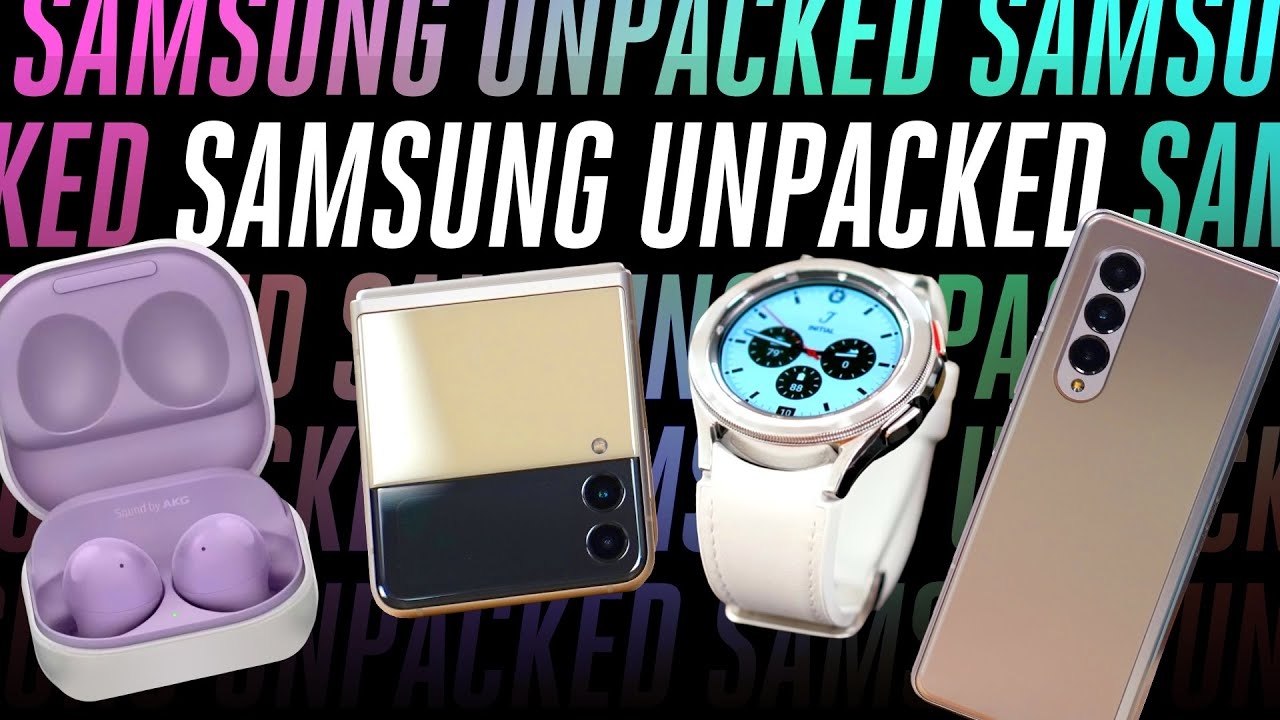 Samsung's Z Fold 3 event in 10 minutes: Galaxy Watch 4, Galaxy Buds 2 revealed!