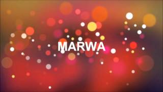 ¡FELIZ CUMPLEAÑOS MARWA!
