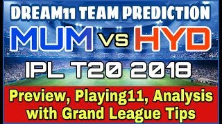 srh vs mi ipl 7th match playing11 & winning team