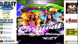 2015 Soca Groovy showdown (Benjai,Farmer Nappy,Bunji Garlin,Destra,Machel,Nadia,Patrice,Shurwayne)