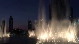 Burj Khalifa Dancing fountain (Enrique Iglesias
