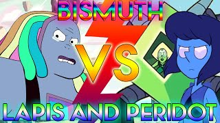 BISMUTH VS LAPIS & PERIDOT [Steven Universe Theory] Crystal Clear Ep. 19