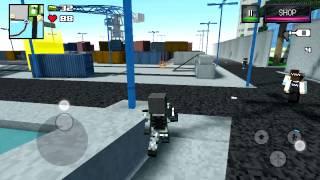 Block City WARS * Обзор игры ( GTA + Minecraft)