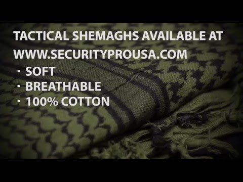 SECURITY PRO USA 3 Basic Tactical Shemagh Wraps – Tutorial