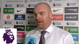 Burnley's Sean Dyche on scuffle, draw with Chelsea | Premier League | NBC Sports