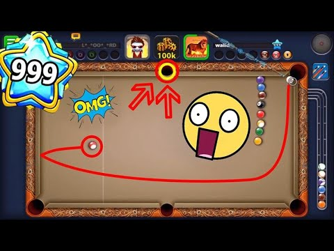 8Ball pool | First person to complete level 999 Walid Damoni | insane trick shots