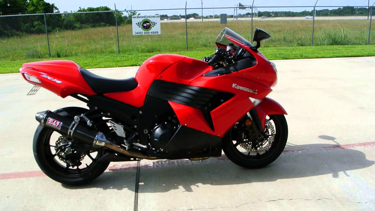 1400 SuperSport 2006 Kawasaki ZX14 in Passion Red - YouTube