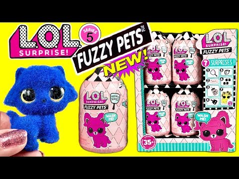 LOL Surprise Fuzzy Pets NEW LOL Pets For LOL Surprise Dolls LOL Surprise Makeover Series 5 LOL Dolls