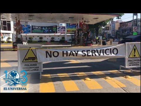 Desabasto de gasolina llega a la Ciudad de México