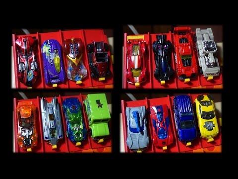 Hot Wheels race tournament: 64 cars.