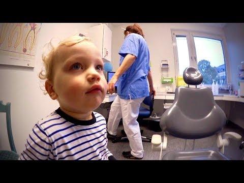 Första tandläkarbesöket VLOGG