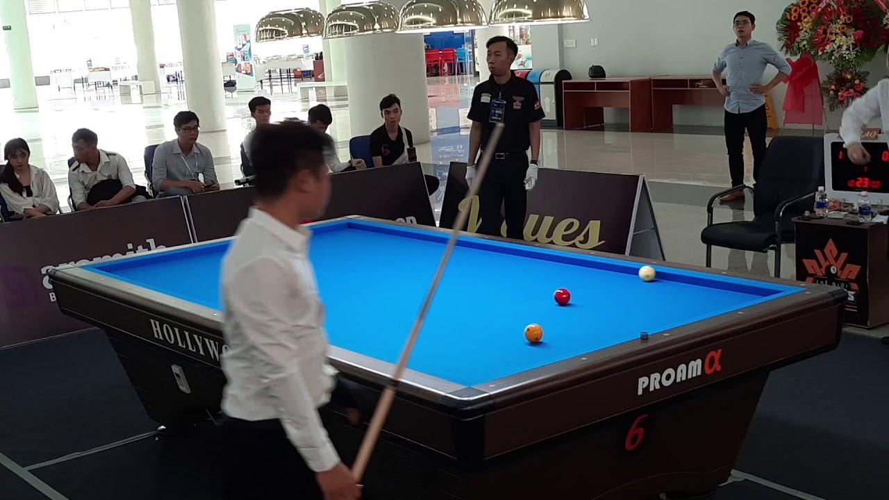 Bao Phương Vinh (ĐH Monas Úc) vs Nguyễn Quốc Dũng (ĐH XD Miền Trung)