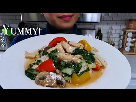 Stir Fried Chicken With Bok Choy