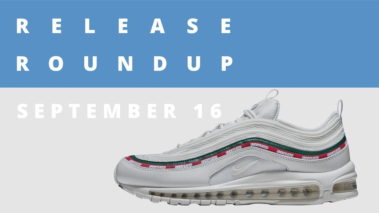 best sneakers 6c44d 8be62 UNDFTD Air Max 97, Exclusive 1 of 1 Nike Air Presto, and More  Release  Roundup