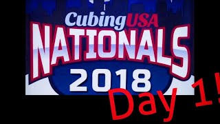 CubingUSA Nationals 2018! (Day 1)