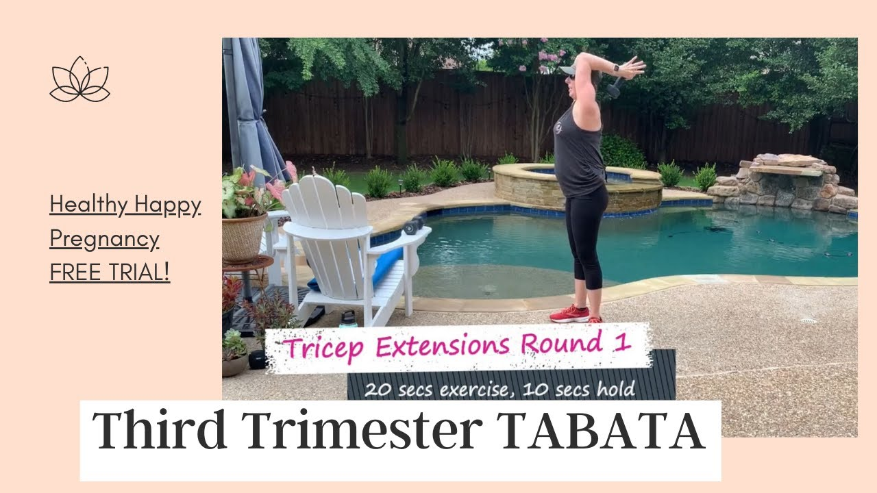 Third Trimester TABATA Workout