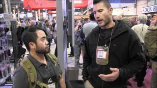 Team A.W.S. - Shot Show 2012 - Redback One and Jason Falla