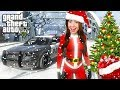 COPS AND ROBBERS!! - GTA 5 Christmas Update