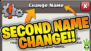SECOND NAME CHANGE IS HERE! - COPY FRIENDS BASES! - TH12 Update News - Clash of Clans
