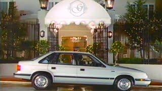 1986 Dodge Lancer Commercial
