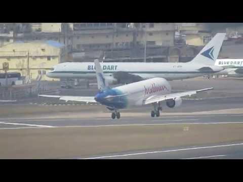 Maldives Airlines A320 at Chennai Airport
