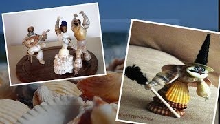 Best  DIY Seashell Decor Ideas. Beach DIY. Crafts to Make and Sell