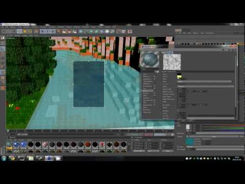 Tutorial : How to import and render a minecraft world in cinema 4d