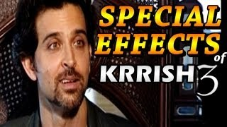 Krrish 3 Official | Hrithik talks about Special Effects of Krrish 3