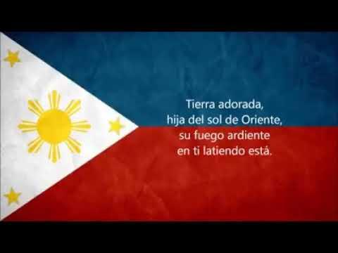 Original Spanish Version of Philippine Anthem