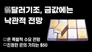 [금값,금시세] 해외반응: 弱달러기조, 금값에는 여전히…