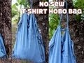 DIY Hobo Bag T-shirt Recon, ThreadBanger How-to