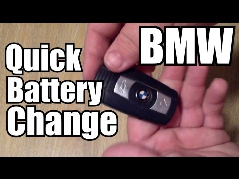 BMW Keyfob Battery Replacement HOWTO  YouTube