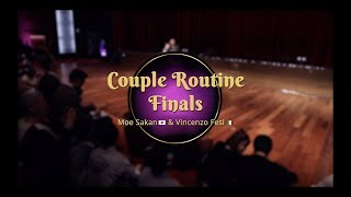 Savoy cup 2018 - couple routine finals -  moe sakan & vincenzo fesi