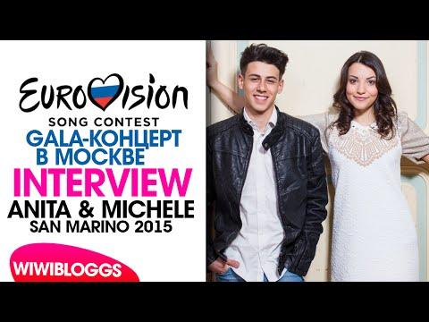 Interview: Anita & Michele (San Marino 2015) GALA-КОНЦЕРТ В МОСКВЕ 2015 | wiwibloggs